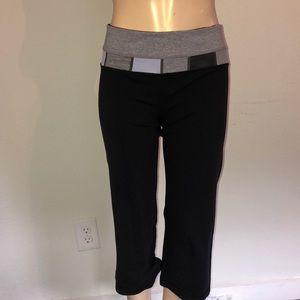 Lululemon reversible quilted Capri pants 6